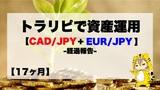 【17ヶ月目】トラリピ30万円資産運用結果報告