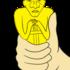 オスカー像 の無料イラスト