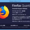 Firefox ESR 60.9.0