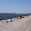 南芦屋浜ベランダの混み具合 2018GW5月5日