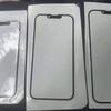 ノッチが小さくなった新型iPhone13の前面ガラスとされるパーツ写真が流出