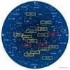 かに座 いわゆる黄道12星の1つ.ギリシャ神話では,レルネーのヒュドラー(⇒うみへび座)に加勢してヘーラクレースにあっさり踏みつぶされてしまう大ガニ!しかし,かに座の起源は古代メソポタミアに遡ることができます.ギリシャ神話に出てくるカニは,このやや情けないカニしか見つからなかった?