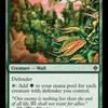 好きなカードを紹介していく。第百三十一回「草茂る胸壁」