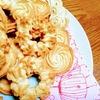 ホワイトチョコの絞り出しクッキー
