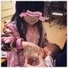娘3歳4ヶ月 退院の日  久々の母との再会と弟との初対面