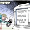 podcast で最近のアメリカの政治漫画の状況を知る