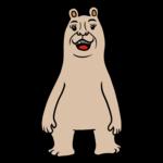 かわいいクマ のイラスト