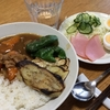 焼き野菜のカレーライス・サラダ