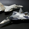ZVEZDA 1/72 Sukhoi T-50 (PAK-FA) Model Finished.
