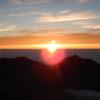 【北アルプス縦走】槍ヶ岳~北穂高⑤北穂高からの朝日は最高!
