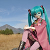 ミク様INアイヅ最終回 西方浄土の体育座り歌姫