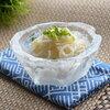 お刺身やフルーツが入るアートのような氷の器が簡単に作れる製氷トレー「ゆきポン氷」