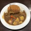 禁酒日のディナー(メンチカツカレー)