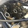 CBR250RR(MC22) オイル漏れ修理