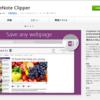 OneNote Clipper for Chrome