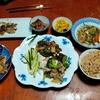 幸運な病のレシピ( 2453 )昼: バンバンジー、青椒肉絲風牛肉炒め