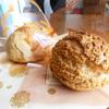 注文してからクリームを入れる菓子工房まえだのシュークリーム@鹿児島市光山