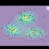 【Python】4.4.3:ガウス混合モデルにおける推論:変分推論【緑ベイズ入門のノート】