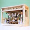 大型箱宮 幅60cm相当 ガラス宮しめ縄付き三社の祭り例