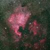 梅雨前の北アメリカ星雲