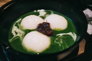浅草寺で初詣 抹茶の和カフェ「やなぎ茶屋」の白玉がモチモチで絶品