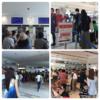 那覇空港国際線ターミナルビルめちゃくちゃの大混雑と人々の熱気でムンムン!!
