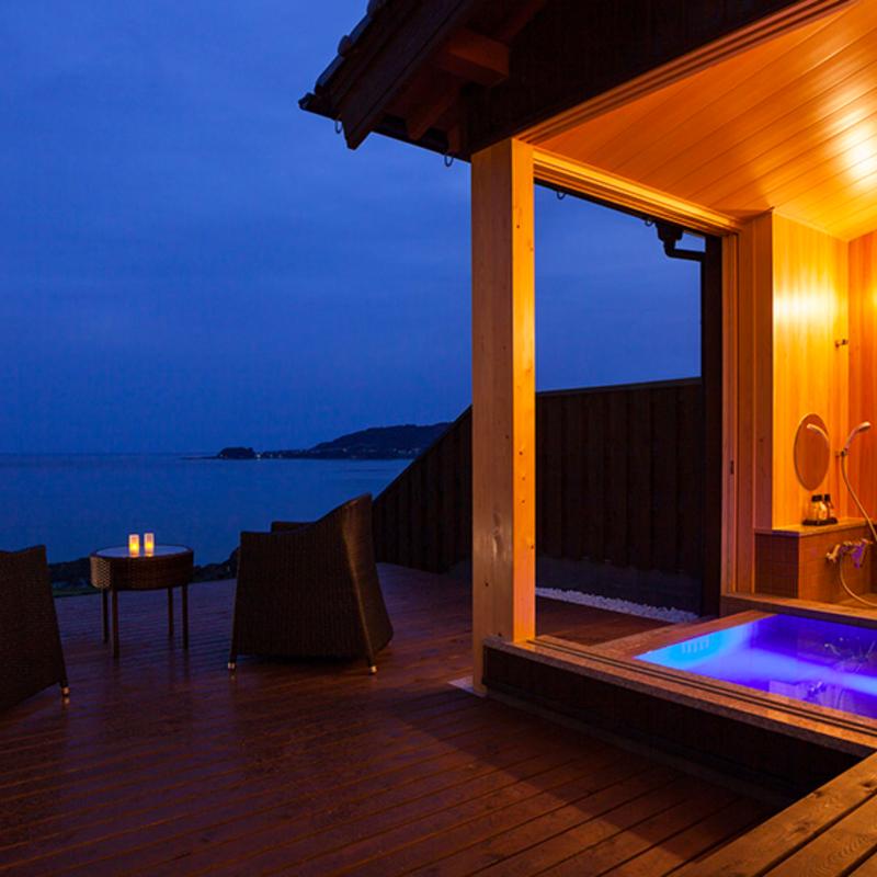 青い海、日本海の夕陽、緑のパノラマ・・癒しの絶景温泉 厳選5