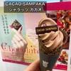 西武池袋本店のバレンタイン催事『Chocolate PARADISE』に行き、カカオサンパカの『ジャラッツ カカオ』を食べました😆✨