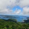 奄美大島、高知山展望台は大島海峡を一望できる絶景スポットです。