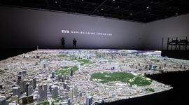 <見学レポート>森ビルが作った 1/1000のサイズの東京模型がすごかった