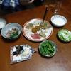 幸運な病のレシピ( 99 ) まだらの卵と糸コン、イカの煮付け、ヒジキと鶏肉のオカラ