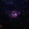 「干潟星雲M8」の撮影 2021年4月22日(機材:コ・ボーグ36ED、スリムフラットナー1.1×DG、E-PL5、ポラリエ)