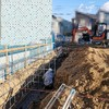 グランセゾン建築日誌:深基礎工事