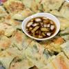 【韓国料理】小麦粉(薄力粉)で作る海鮮チヂミ レシピ