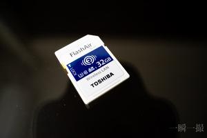 TOSHIBA FlashAir W-04 スマホやiPadに無線LANで転送できるSDカード