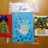 長男(5歳)がフランスの幼稚園で作ってきたクリスマスカード【海外生活】