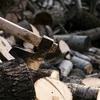 久しぶりの薪割りと薪ストーブと火の魅力