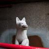 白菊稲荷の狐