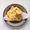 【幼児食】今が旬!とうもろこしと枝豆の揚げないかき揚げレシピ
