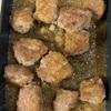 ひき肉でサイコロステーキ風