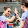 伊藤美誠・早田ひな組がダブルス3連覇、美誠は3年連続3冠に王手