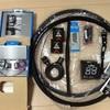 自転車(クロスバイク)作ります  3    パーツ取付とビアンキ修理