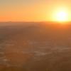 2019年初撮影はもちろん朝日!ダイナミックな景観を高台から撮影♪