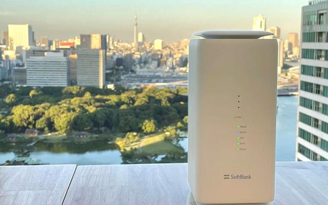 5Gに対応したSoftBank Air 「Airターミナル5」を一足早く体験。その実力は…!?