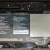 Q506/MEのリアパネルとバッテリの取り外し