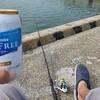 日立港第5埠頭で初めてぶっこみサビキでアジ釣りをしたよ
