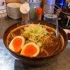 焦がし味噌が香ばしい 札幌味噌ラーメン@横浜らーめん 青木家