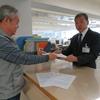 山下市長に市民要求書を出しました