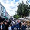 Portabello Market、ノッティングヒル散策