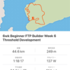 6week ftp builderを終えて